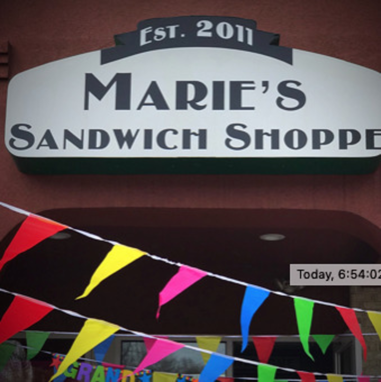 Marie's Grand Opening