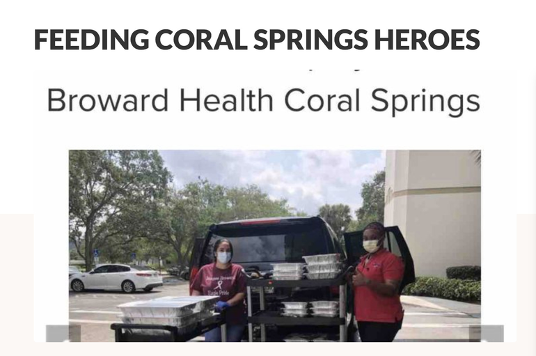 Coral Springs Fundraiser Launched To Support First Responders