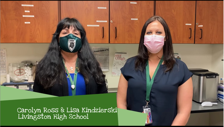 Livingston School District Honors Healthcare Heroes with Video Messages and More