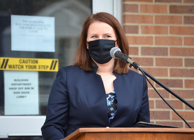Scotch Plains Deputy Mayor Elizabeth Stamler