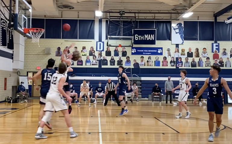 Randolph 'Fouls Up' in Fourth Quarter to Defeat Chatham Boys Basketball; Casano-Boris, Leskauskas 12 Points Each for Cougars