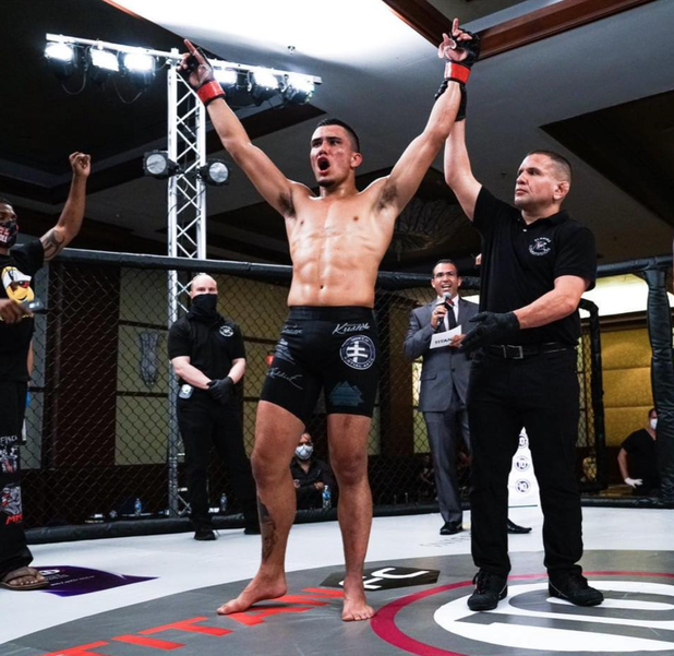 MMA Fighter With Coral Springs Ties Wins Match Seen Nationally