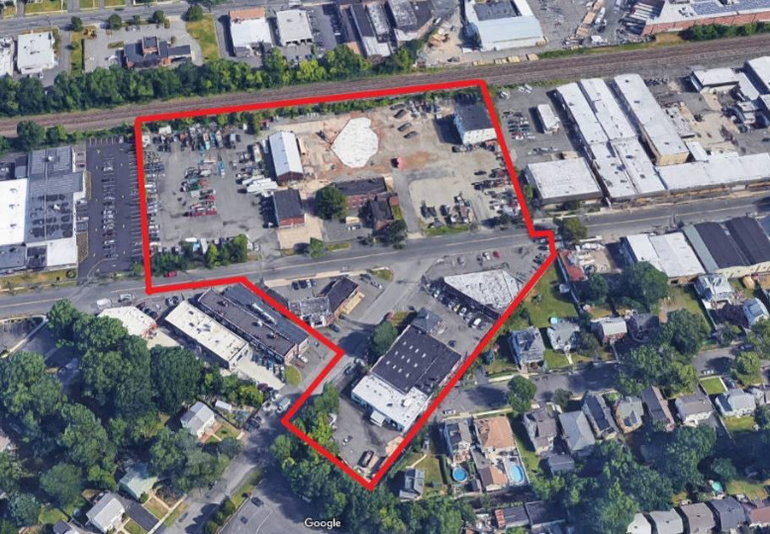Westfield NJ Redevelopment Area