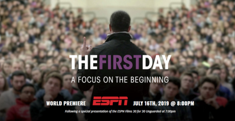 """""""The First Day"""" Anti-Addiction Film with Chris Herren on ESPN Tuesday"""