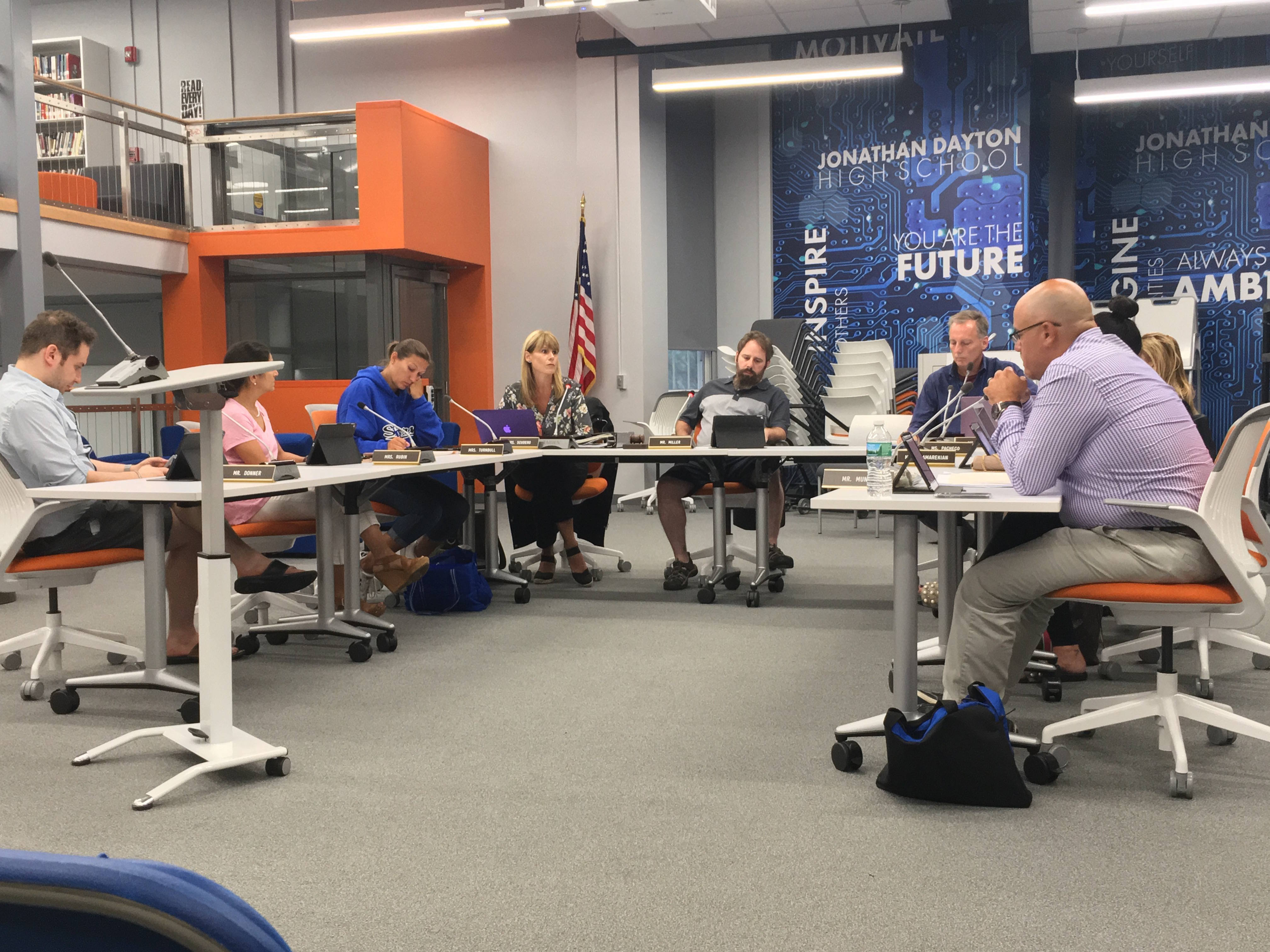 Springfield School Board Discusses Legal Settlement, New Curriculums at August Meeting