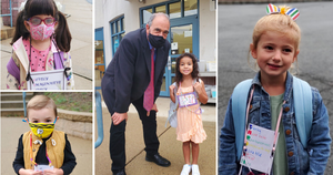 The First Day of Full-Day Kindergarten in the Wayne Public Schools