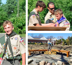 Eagle Scout Makes History at Troop 107 in Wayne