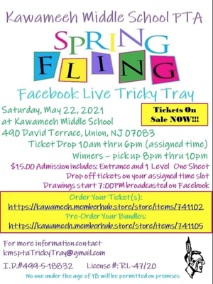 "Tickets Now Available for Kawameeh Middle School PTA's ""Spring Fling"""
