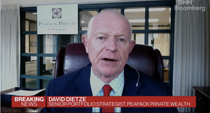 WATCH: Peapack Private Wealth's Dietze Says Fed Has 'Not Been Knocked Off Its Course'