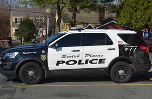Scotch Plains Police car