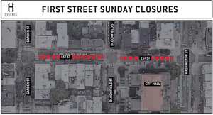 """""""First Street Sundays"""": Hoboken Closing Commercial Area to Vehicular Traffic on Sundays This Fall"""