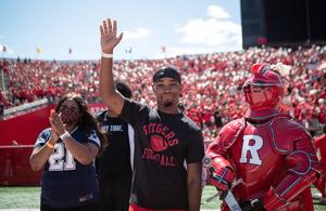 14-Year-Old Saint Barnabas Brain Surgery Patient Honored at Rutgers Season Opener
