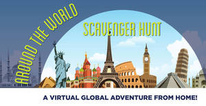 An Around the World Scavenger Hunt with County College of Morris  A Virtual Global Adventure from Home