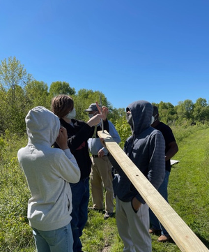 MCVTS Students Paid to Work on Projects in Middlesex County Parks