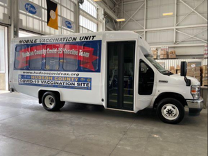 Hudson County Rolls Out Mobile Vaccination Unit
