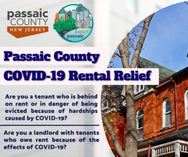$2.1 Million Going Out to Help Residents of Passaic County Catch Up on Rent