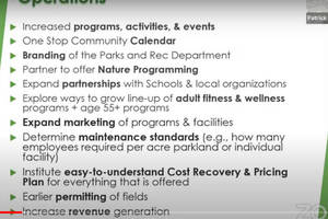 Bernardsville Hears Recommendations for Recreational Upgrades