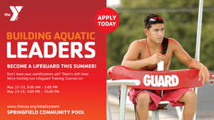 Lifeguards Wanted at the Springfield Community Pool