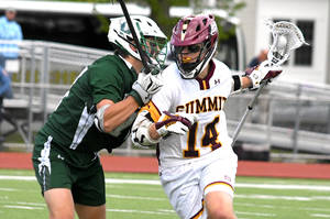 Still Unbeaten Summit H.S. Boys Lacrosse Grinds Out Victory Over Delbarton, 7-5