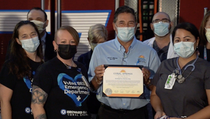 City of Coral Springs issued proclamation in honor of Emergency Nurses Week, Oct. 12-18, for Broward Health Coral Springs.
