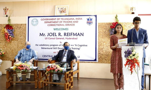 Livingston High School Siblings Intern with Criminal Recidivism Program in India