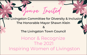 Livingston Council and Diversity Committee to Host Inspiring Women ofLivingston Awards