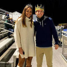 Carousel image 7cb6599835d3ff800798 scotch plains fanwood s homecoming queen and king corrine lyght and joey linder