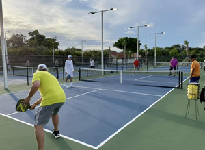 Pickleball game at Country Club of Coral Springs