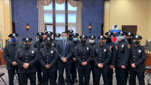 The Paterson Police Department Swore in 16 new officers on January 12