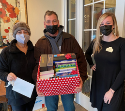 Livingston UNICO Collects Activity Books for Local Nursing Homes, Toys for Children in Need