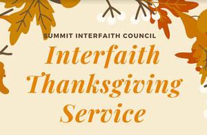 Summit Interfaith Council Hosts Virtual Thanksgiving Service Nov. 19