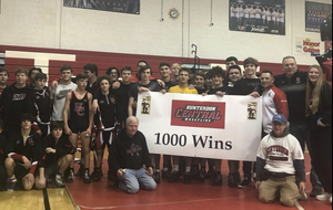 Hunterdon Central wrestling team is 3-0 in the Skyland Conference as of March 26th.