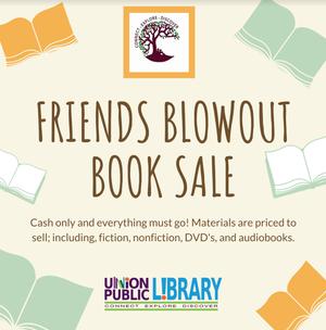 Blowout Book Sale at Union Public Library