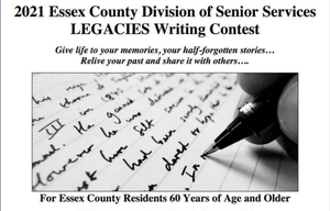 """Older Adults Invited to Enter Essex County's Annual """"Legacies"""" Writing Contest"""