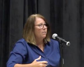 Chatham BOE President Jill Critchley Weber