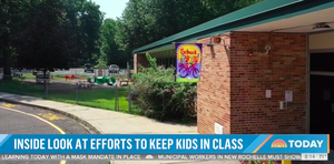 NBC's 'Today' Features Berkeley Heights School District: Safely Welcoming Students Back to In-Person Learning