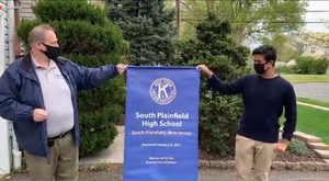 South Plainfield Key Club Officially Chartered, Rohan Gupta Sworn In as President