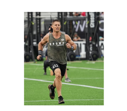 Justin Brown, a Coral Springs chiropractor, competed in the CrossFit Games.