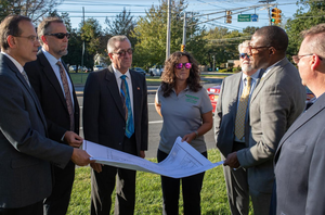 Middlesex County and the Township of Monroe to move forward with major improvements to the traffic signal at Applegarth and Prospect Plains Road