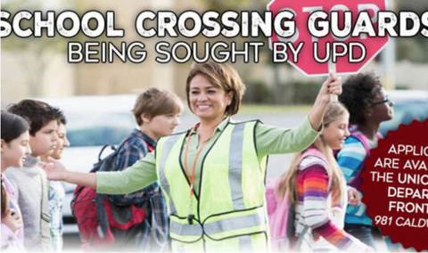 Union Police Accepting Applications for School Crossing