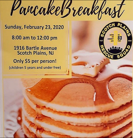 Top story e12bdb5e72f8a8f91b56 scotch plains rescue squad pancake breakfast 2020