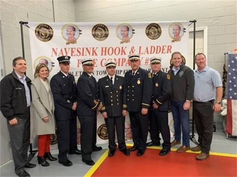 2020Fire Chiefs Election at Navesink Hook and Ladder Company No. 1, a Celebration of Volunteer Service