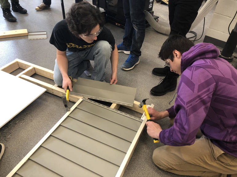 SDF students constructing Photo Booth.jpg