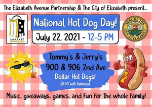 City of Elizabeth to Celebrate National Hot Dog Day with One Dollar Hot Dogs