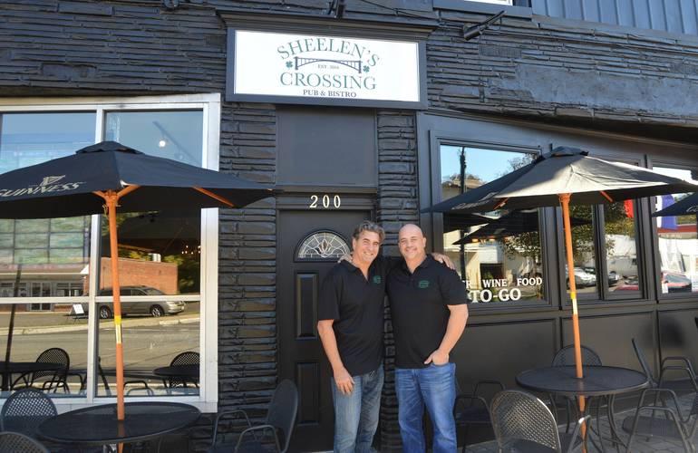 Sean Flannery & Frank Pascale of Sheelen's Crossing in Fanwood