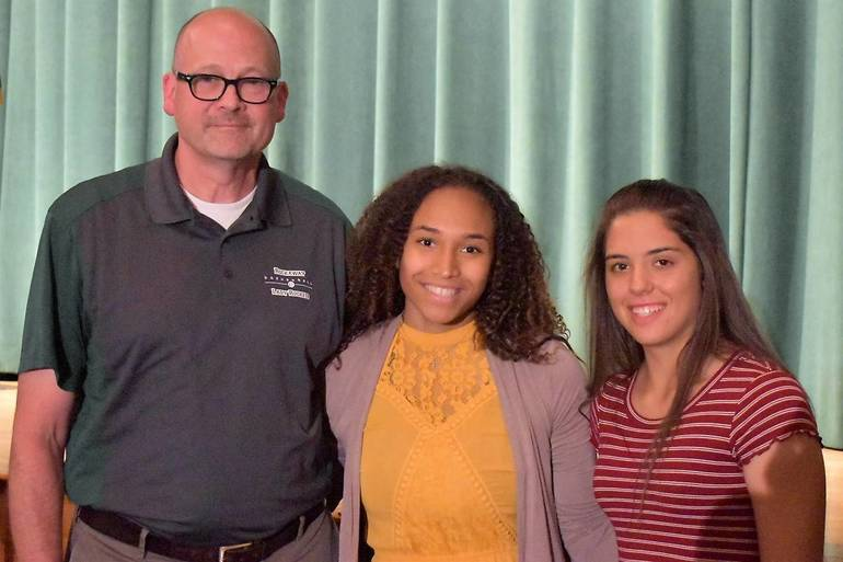 Senior Awards 2019.Rockaway Township Girls Travel Basketball and Morris Knolls Girls Basketball Scholarship.JPG