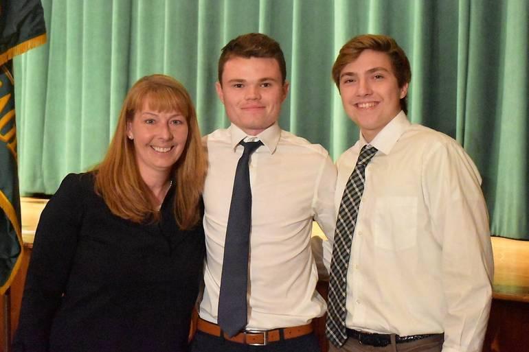 Senior Awards 2019.Morris Knolls Ice Hockey Booster Club Scholarship.JPG