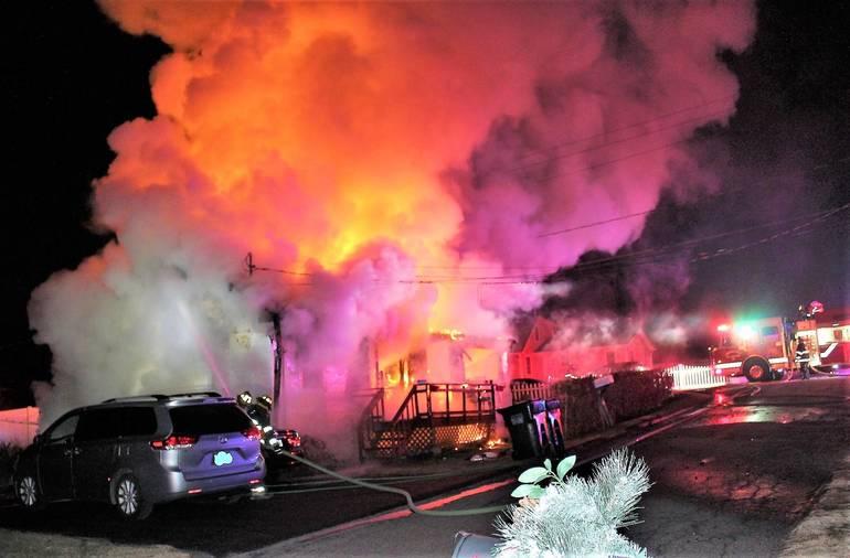 Fire Destroys Mahopac Falls Home