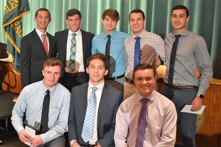 Senior Awards 2019.Morris Knolls Boys Lacrosse Booster Club Scholarship.JPG