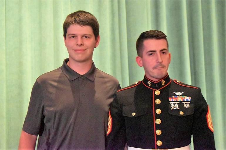 Senior Awards 2019.U.S. Marine Corp Semper Fidelis Music Excellence Award.JPG